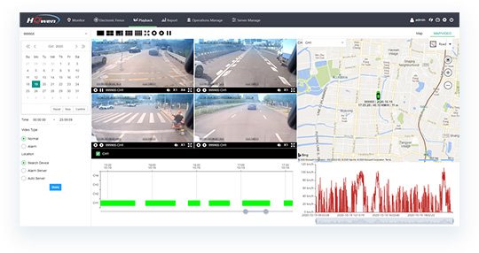 Howen-mobile-DVR-VSS-software-inteface