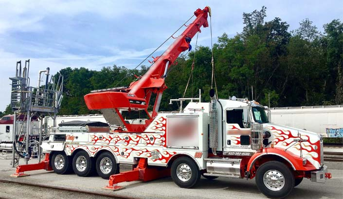 Towing Truck Project in US