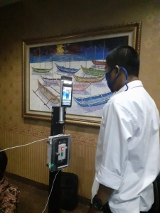 Howen face recognition thermal access control terminals