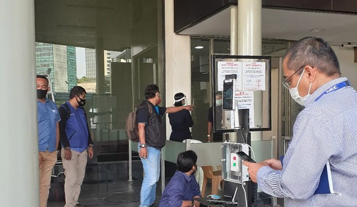 Thermal Detector deployed in Indonesia