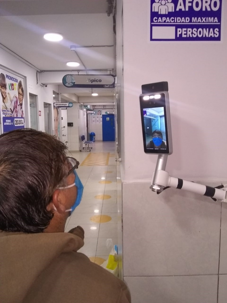 Thermal Detector in Hospital