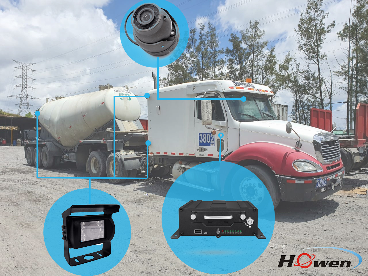 Howen-VSS-MDVR-solution-in-Guatemala