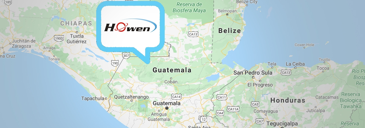 Howen-Solution-in-Guatemala-on map